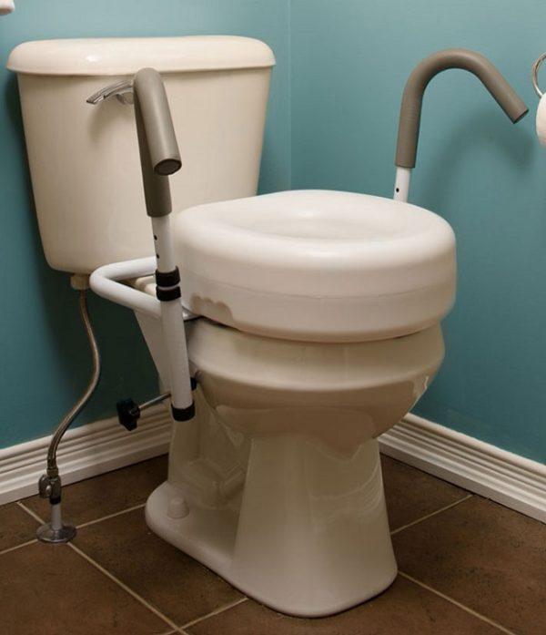 "5"" Raised Toilet Seat"