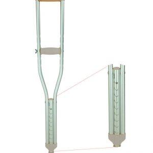 Pushbutton Crutches