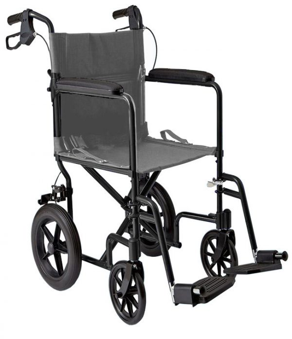 12 inch Lightweight Transport Chair