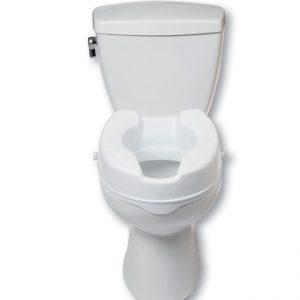 "4"" Raised Toilet Seat"