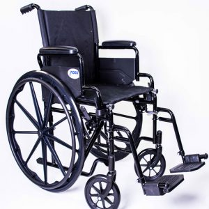 Deluxe Economy Wheelchair/Steel